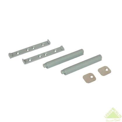 Механизм накладной Impuls 80х12 мм пластик цвет серый 2 шт.