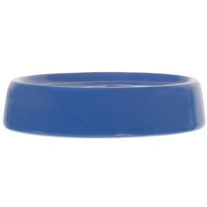 Мыльница настольная Veta керамика цвет синий