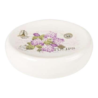 Мыльница настольная Vidage Violetta керамика цвет белый