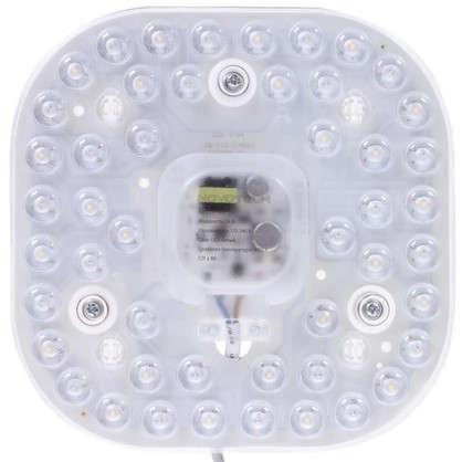 Модуль светодиодный квадратный на магнитах с драйвером 24 Вт 1680 Лм свет нейтральный