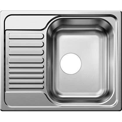 Мойка врезная Blanco Mini 60.5x50 см глубина 16 см нержавеющая сталь