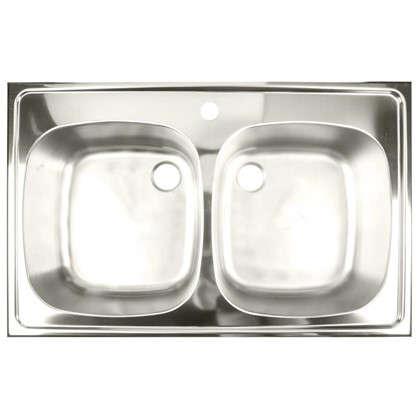 Мойка врезная Franke ETX 620-50 78х50 см цвет матовый хром нержавеющая сталь