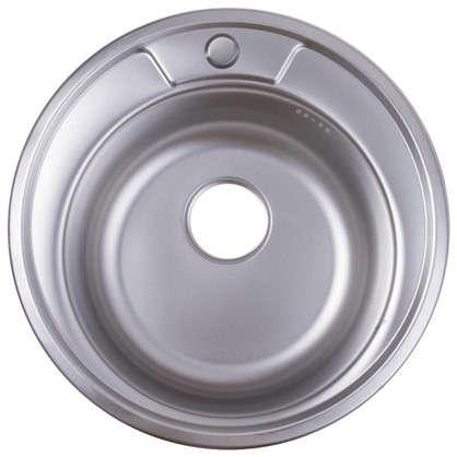 Мойка врезная Maidsink Kiba 49 см цвет хром нержавеющая сталь