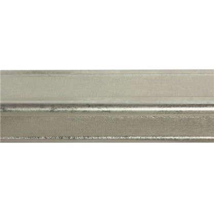 Молдинг настенный Decomaster 116S-937 22х22х2000 мм цвет серебристый