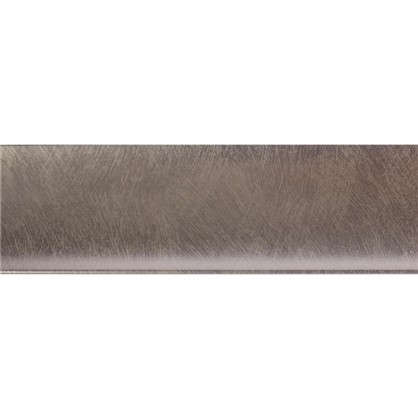 Молдинг настенный Decomaster D045-373 50х8х2000 мм цвет серебристый
