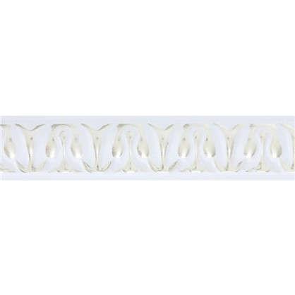 Молдинг настенный Интер 2 м 20х10 см цвет белый