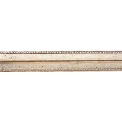Молдинг настенный угловой 116-127 200х3 см цвет золотой