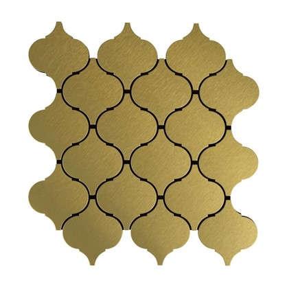 Мозаика Artens 24.8х26 см цвет золотой