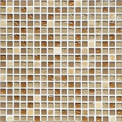 Мозаика Artens 30.1х30.1 см стекло цвет бежевый