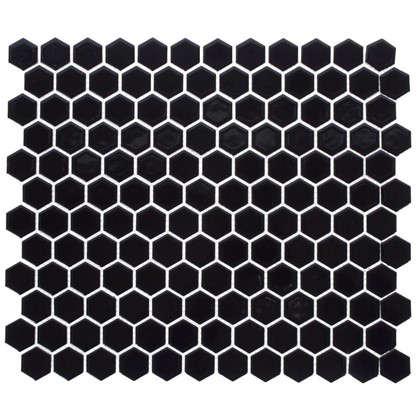 Мозаика Artens 30х26 см керамика цвет чёрный