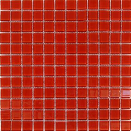 Мозаика Artens 30х30 см стекло красный