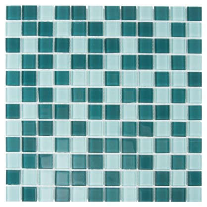Мозаика Artens 30х30 см стекло цвет зелёный