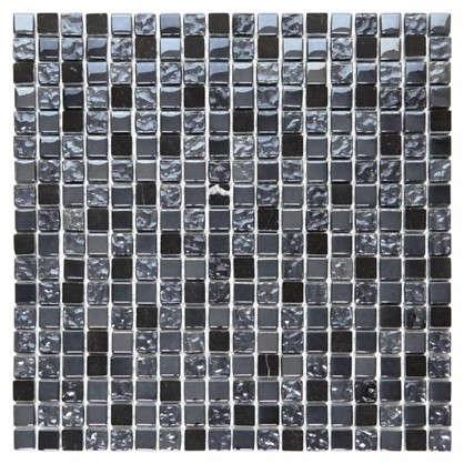 Мозаика Artens Fsn 30х30 см стекло цвет чёрный