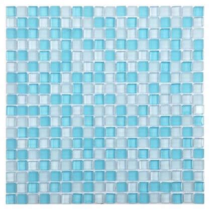 Мозаика Artens Glass 30х30 см стекло цвет голубой