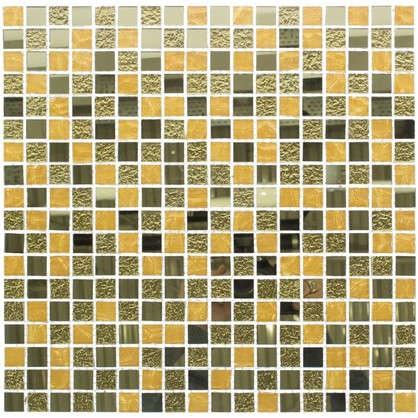 Мозаика Artens Gold 30х30 см стекло цвет золотой