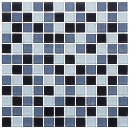 Мозаика Artens Shaker 30х30 см стекло цвет серый