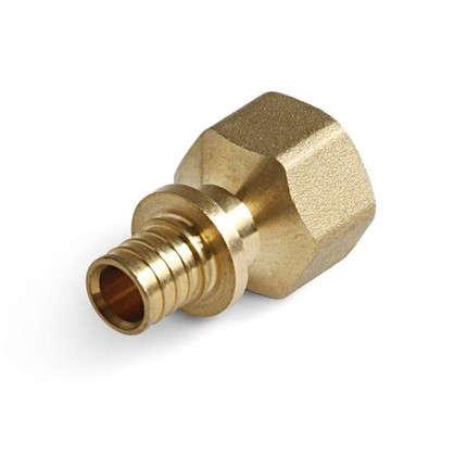 Муфта аксиальная ProAqua внутренняя резьба 1/2х16 мм латунь