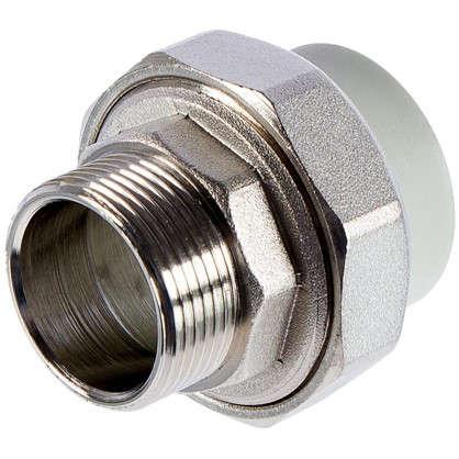 Муфта Fv-Plast наружная резьба d 40х 1 1/4 мм полипропилен