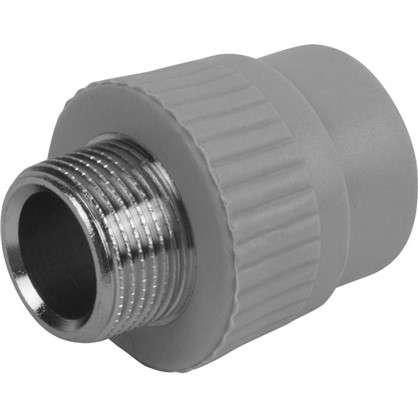 Муфта комбинированная FV-Plast -Plast наружная резьба25х3/4 полипропилен