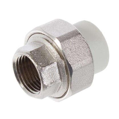 Муфта комбинированная FV-Plast внутренняя резьба 20х1/2 мм полипропилен
