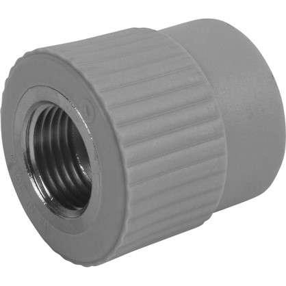 Муфта комбинированная FV-Plast внутренняя резьба 25х1/2 мм полипропилен