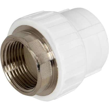 Муфта комбинированная под ключ внутренняя резьба 32 мм х 1 полипропилен