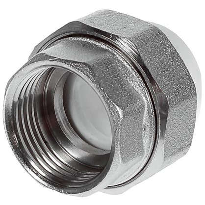 Муфта комбинированная разъемная внутренняя резьба 20х3/4 мм полипропилен
