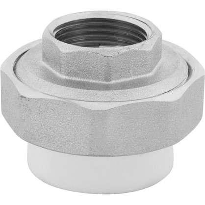 Муфта комбинированная внутренняя резьба 32х3/4 мм полипропилен
