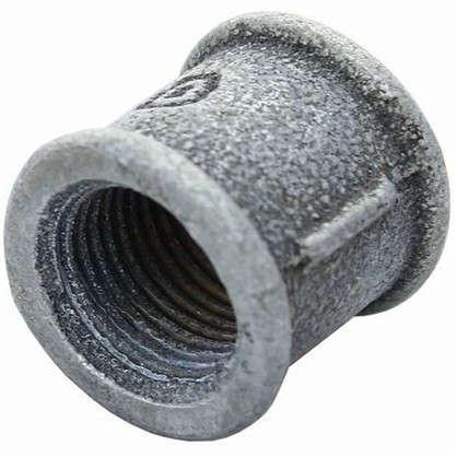 Муфта оцинкованная внутренняя резьба 1 мм чугун