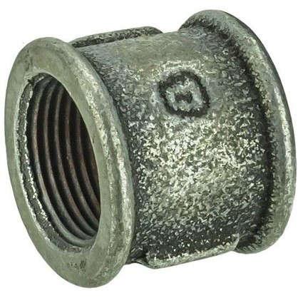 Муфта оцинкованная внутренняя резьба 3/4 мм чугун