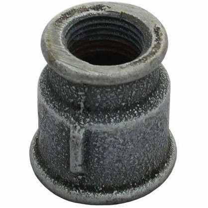Муфта переходная оцинкованная внутренняя резьба 1х1/2 мм чугун