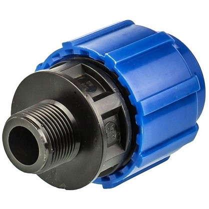 Муфта переходная ТПК-Аква наружная резьба 32х3/4 мм полиэтилен