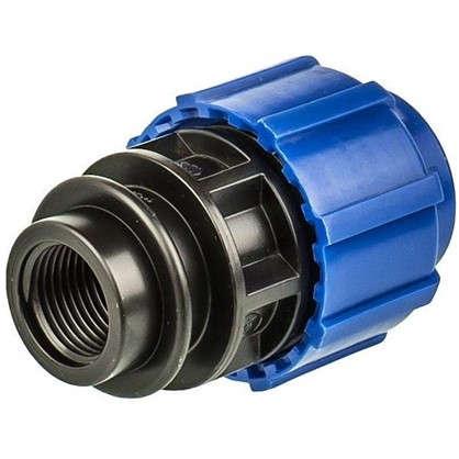 Муфта переходная ТПК-Аква внутренняя резьба 25х1/2 мм полиэтилен