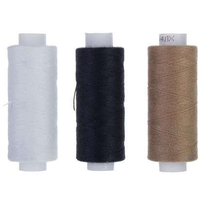 Набор армированных швейных ниток Трио 200 мм