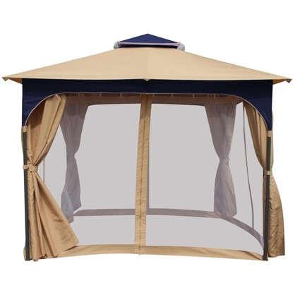 Набор для павильона Сапфир: штора сетка тент сумка для переноскицвет белый