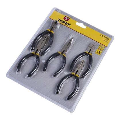 Набор инструмента Topex прецизионный шарнирно-губцевый 5 шт.