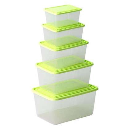 Набор контейнеров для хранения продуктов 5 шт.