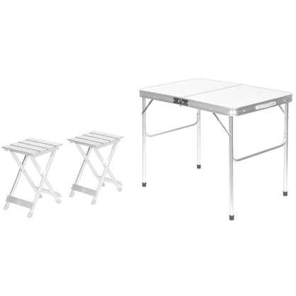 Набор мебели для пикника 3 предмета алюминий