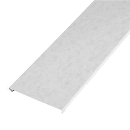 Набор реек 2х1.05 м цвет белый мрамор