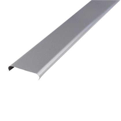 Набор реек 3х1 м цвет серебристый металлик без раскладки