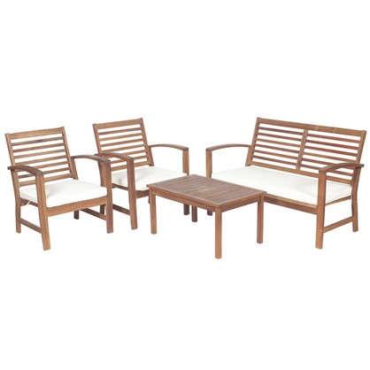 Набор садовой мебели 4 предмета акация