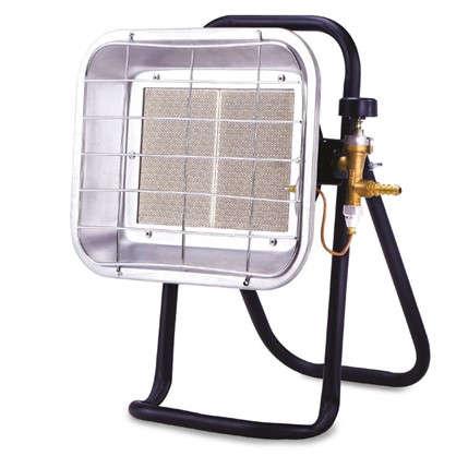 Нагреватель газовый инфракрасный UK-05 с тремя режимами 4.2 кВт