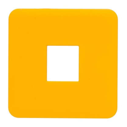 Накладка для телефонной розетки Lexman RJ11-12-45 цвет оранжевый