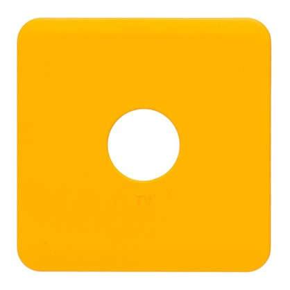 Накладка для ТВ розетки Lexman цвет оранжевый