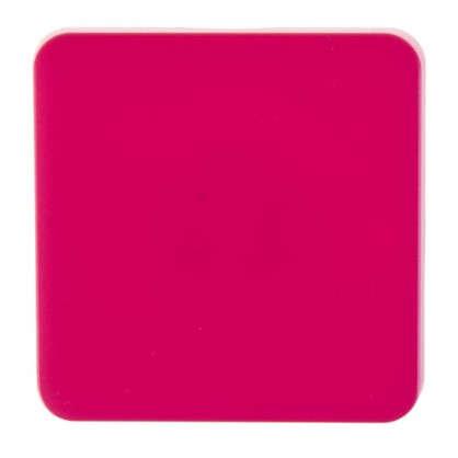Накладка для выключателя/переключателя Lexman цвет фуксия