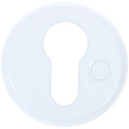 Накладка дверная Фабрика замков Е 002 цвет белый