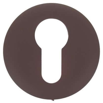 Накладка дверная Фабрика замков P 1 ET цвет матовый коричневый