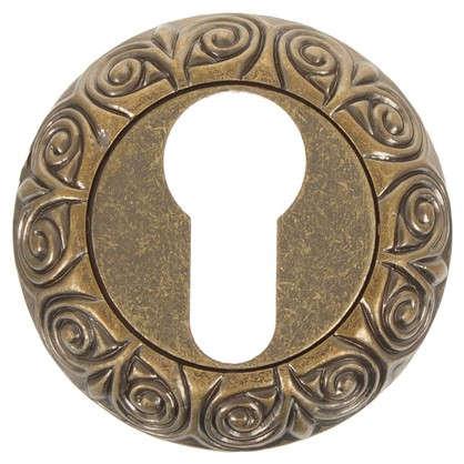 Накладка на цилиндр EDS-B0-20 ANT.BRASS цвет античное золото