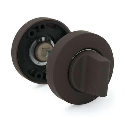 Накладка на цилиндр Фабрика замков P 1 BK цвет коричневый матовый
