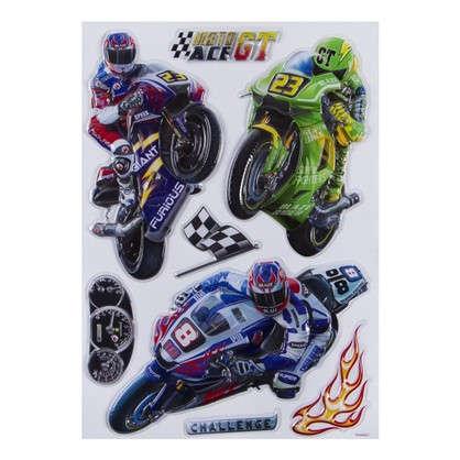 Наклейка 3D Мотоциклы POA 1011